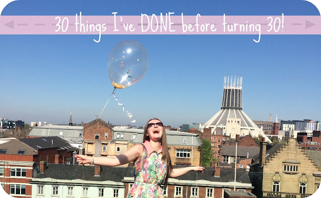 30 things done before turning 30