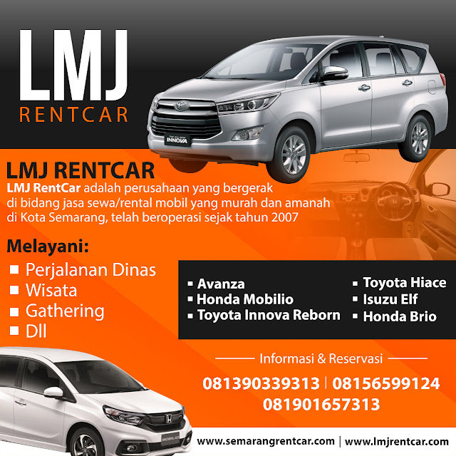 Semarang Car Rental with a Professional and Reliable Driver