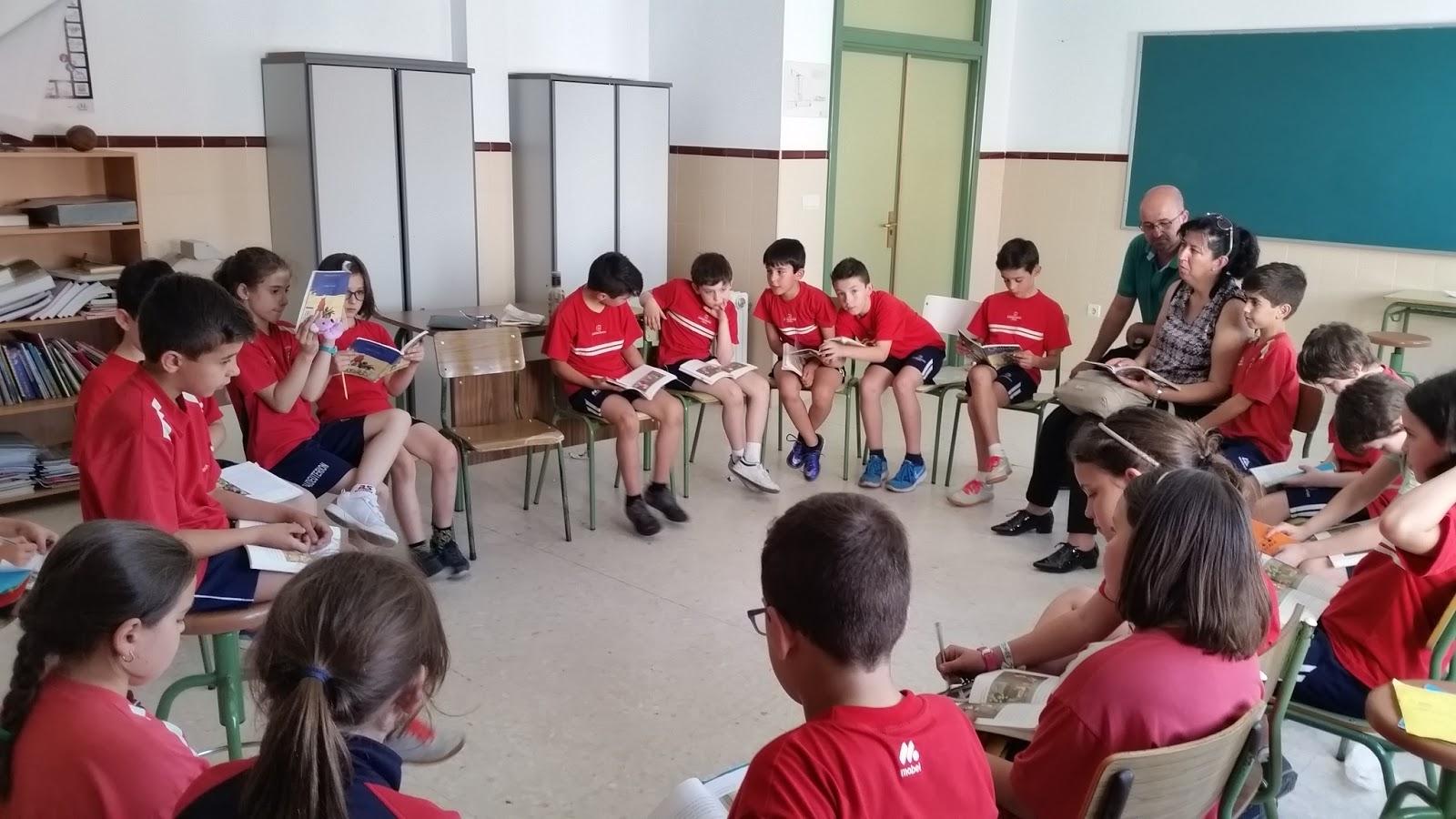 Cuarto de primaria tertulias con familiares for Cuarto primaria