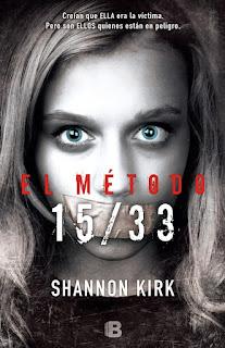 http://www.edicionesb.com/catalogo/autor/shannon-kirk/1363/libro/el-metodo-15-33_4047.html