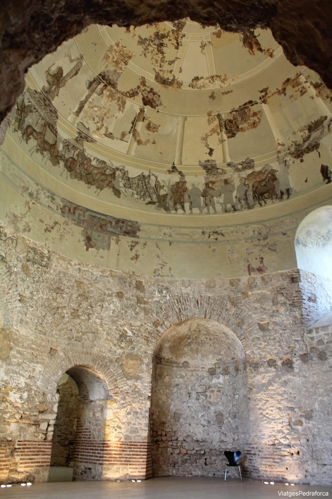 Vil.la romana de Centcelles mosaics Constanti Conjunt Arqueologic de Tarraco Patrimoni de la Humanitat Unesco