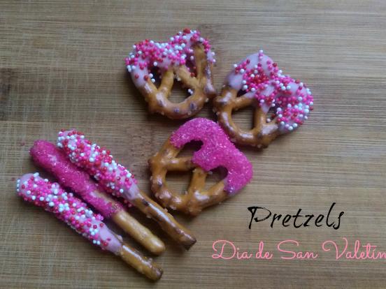 Decora Pretzels para el Día de San Valentin con los niños