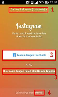 daftar instagram