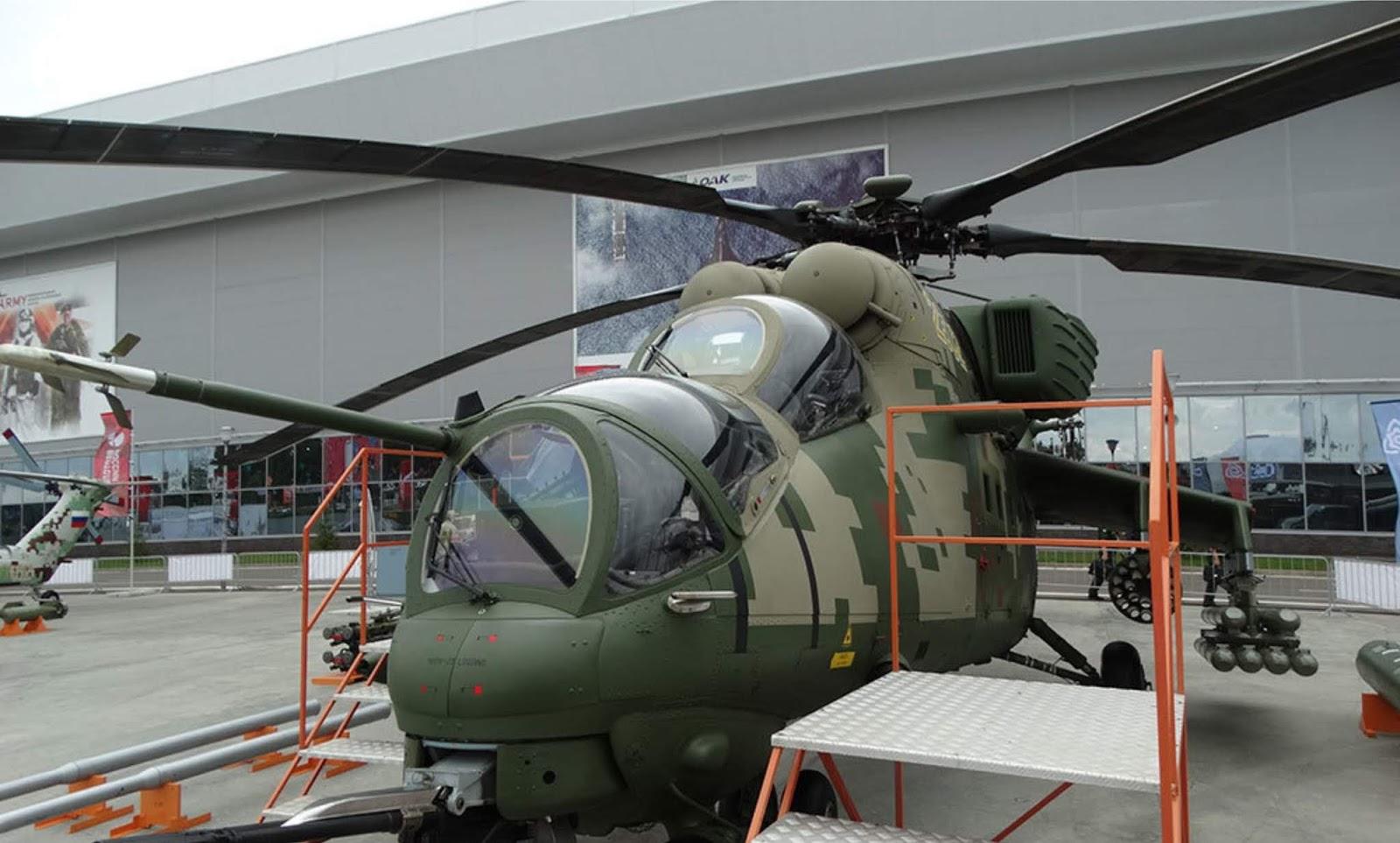 Mi-35M makin garang, mampu manghantam tank pada jarak 10 km