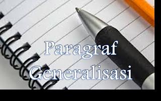 Contoh Paragraf Induktif Generalisasi Bahasa Indonesia
