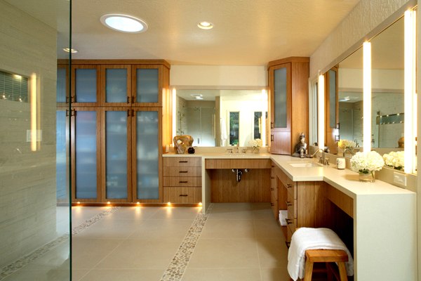 Brilliant Bathroom Lighting Ideas ~ Homeagination