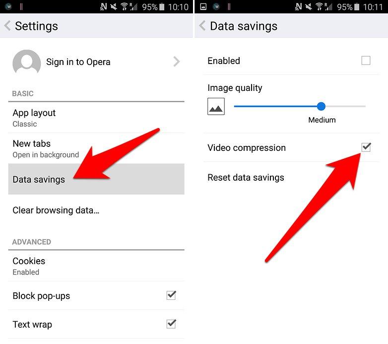 10 خطوات لتقليل استهلاك حزمة البيانات انترنت الجوال للاندرويد | بحرية درويد