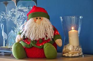 Objetos navideños de mi casa.