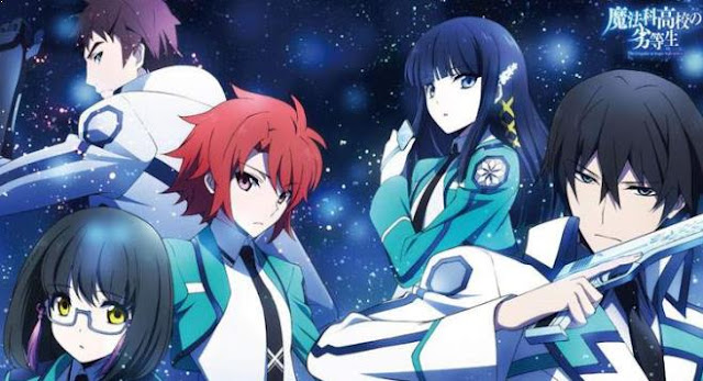Best  Madhouse Anime list - Mahouka Koukou no Rettousei (The Irregular at Magic High School)