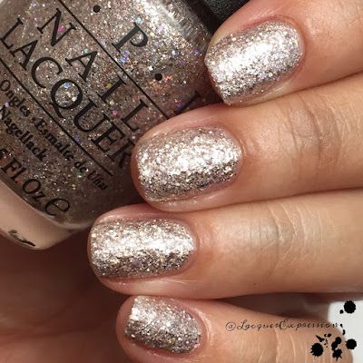 Swatch of Ce-less-tial is More nail polish by OPI