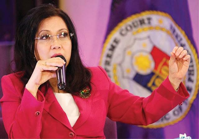 Sereno: I do not serve Presidents, excuse me. That's unforgivable