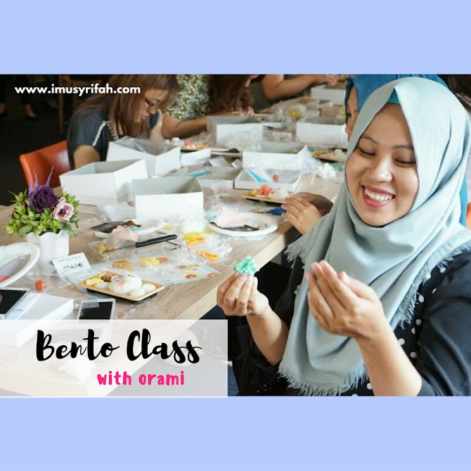 Event report: Belajar Membuat Bento Bersama Orami