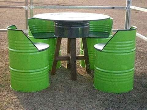 Checkout These Beautiful Made In Aba 'Drum' Chairs