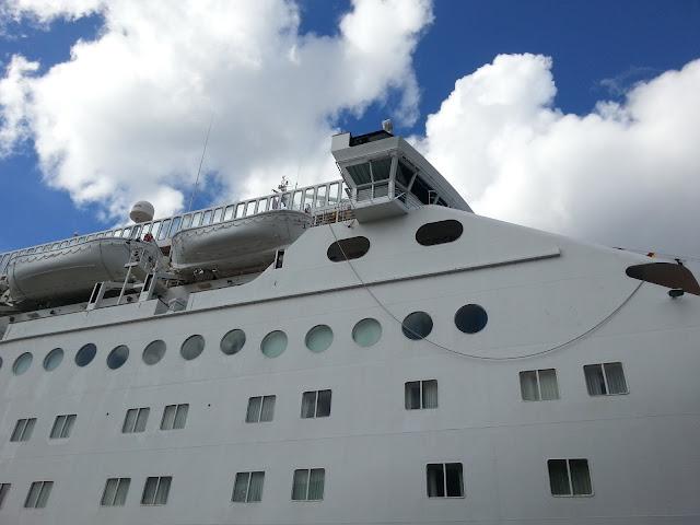 Peace Boat Ocean Dream in Bergen, Norway; Ships in Bergen