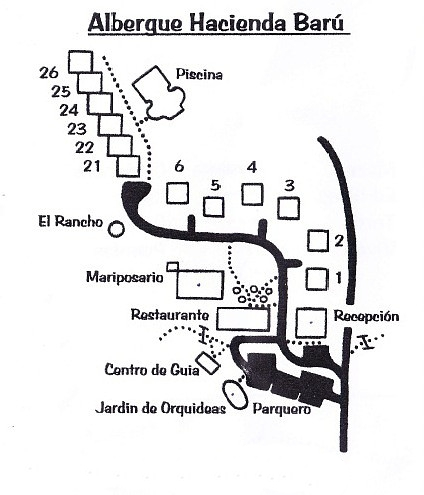 Refugio Nacional de Vida Silvestre y Lodge Hacienda Barú
