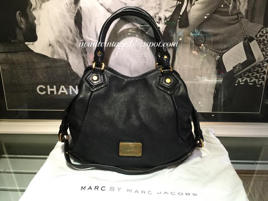 93204937053a Marc by Marc Jacobs Classic Q Fran Bag-Black