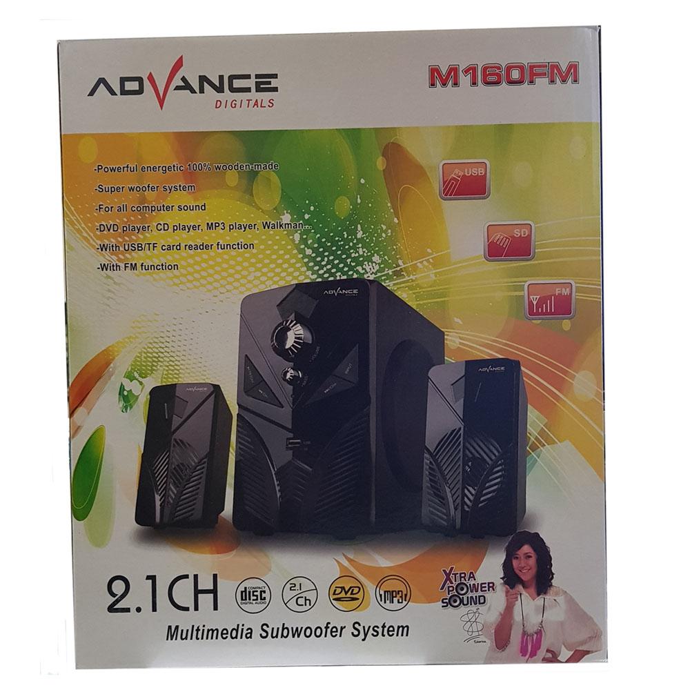 Palugada Online Hyperwebstore Advance M160fm Speaker Aktif Pc Desktop Mini Sunbio Paket Hemat 4 Bagus Tersebut Mengusung 1 Subwoofer Berkekuatan 140w X 225h 212 Dmm Dengan Ukuran Medium 6 Ohm