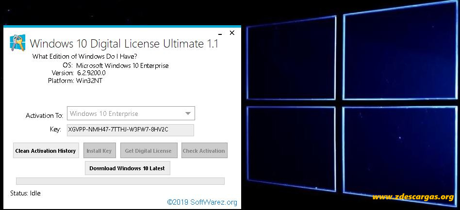 Windows 10 Digital License Ultimate 1.1 Full