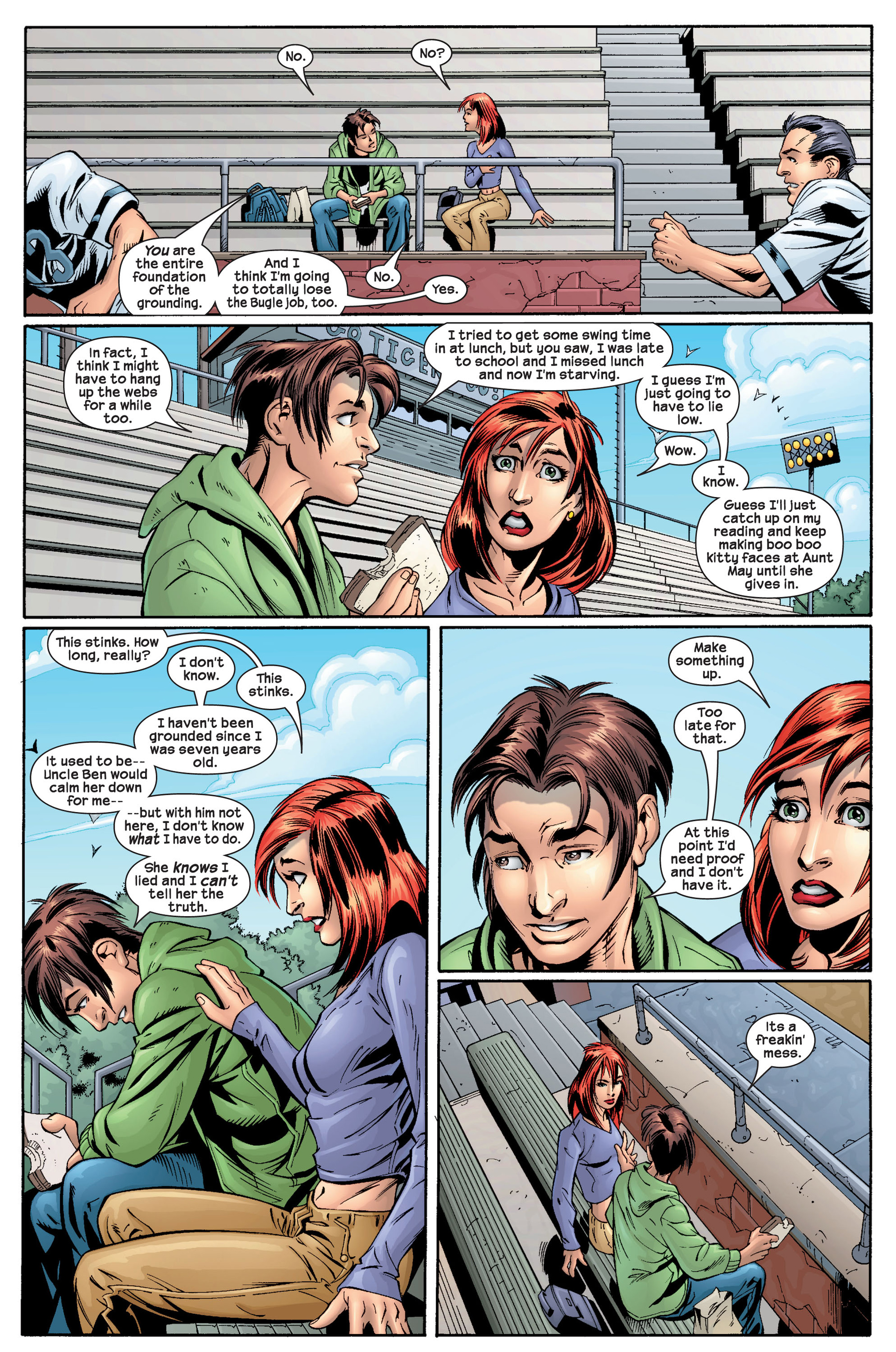 Read online Ultimate Spider-Man (2000) comic -  Issue #22 - 15