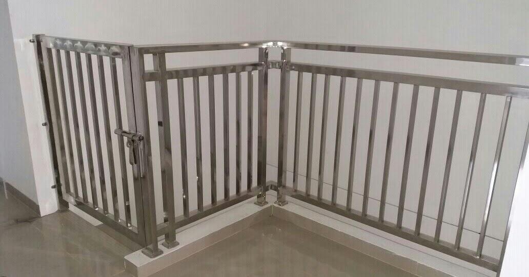 Konsep Model Balkon Stainless Terbaru Balkon Minimalis Balkon