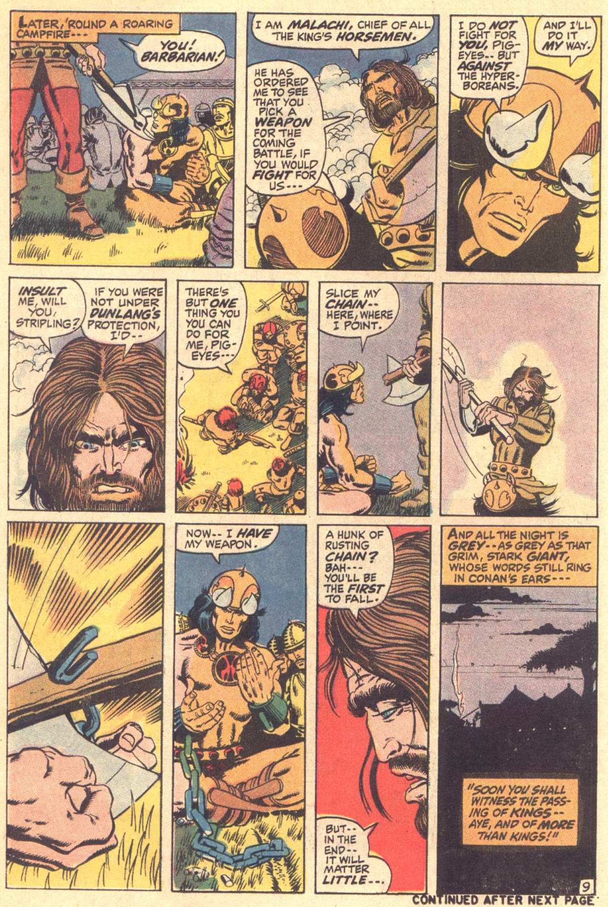 Conan the Barbarian (1970) Issue #3 #15 - English 10