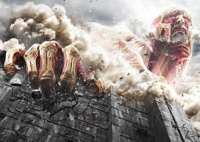 Doniesienia o hollywoodzkim filmie Attack on Titan