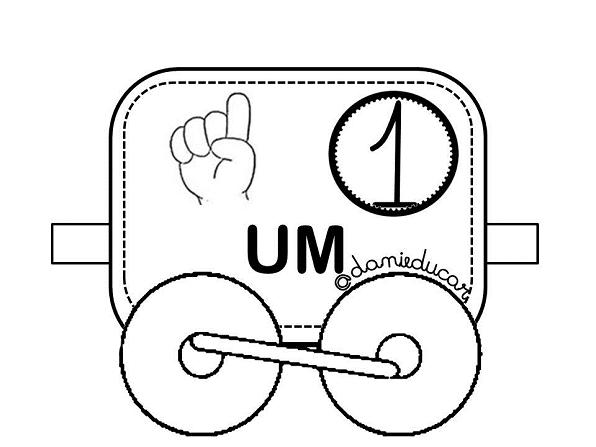 Cartaz Ilustrado Com Numeros 0 Ao 10