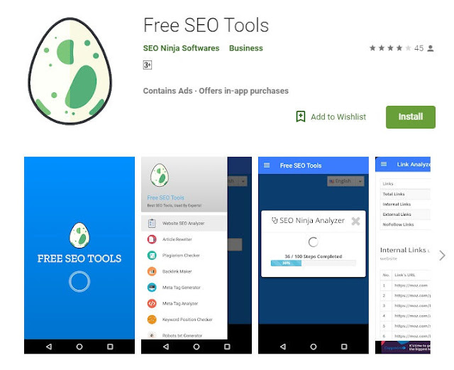 Free SEO Tools, Best Apps For Bloggers
