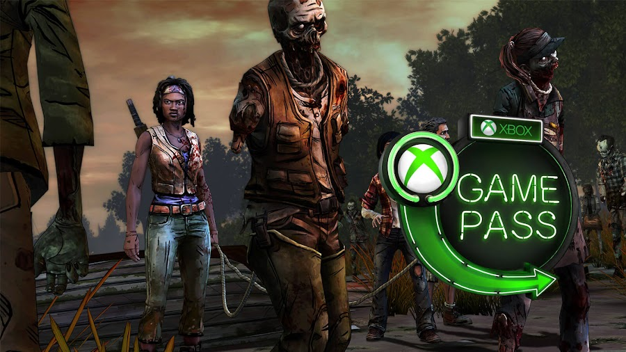 xbox game pass 2019 the walking dead michonne xb1