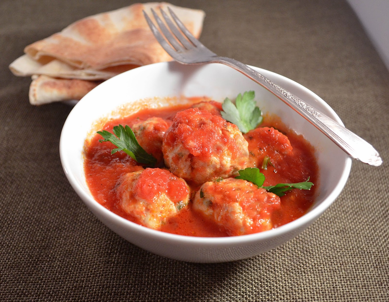 Jilly Inspired Middle Eastern Meatballs In A Tomato Sauce