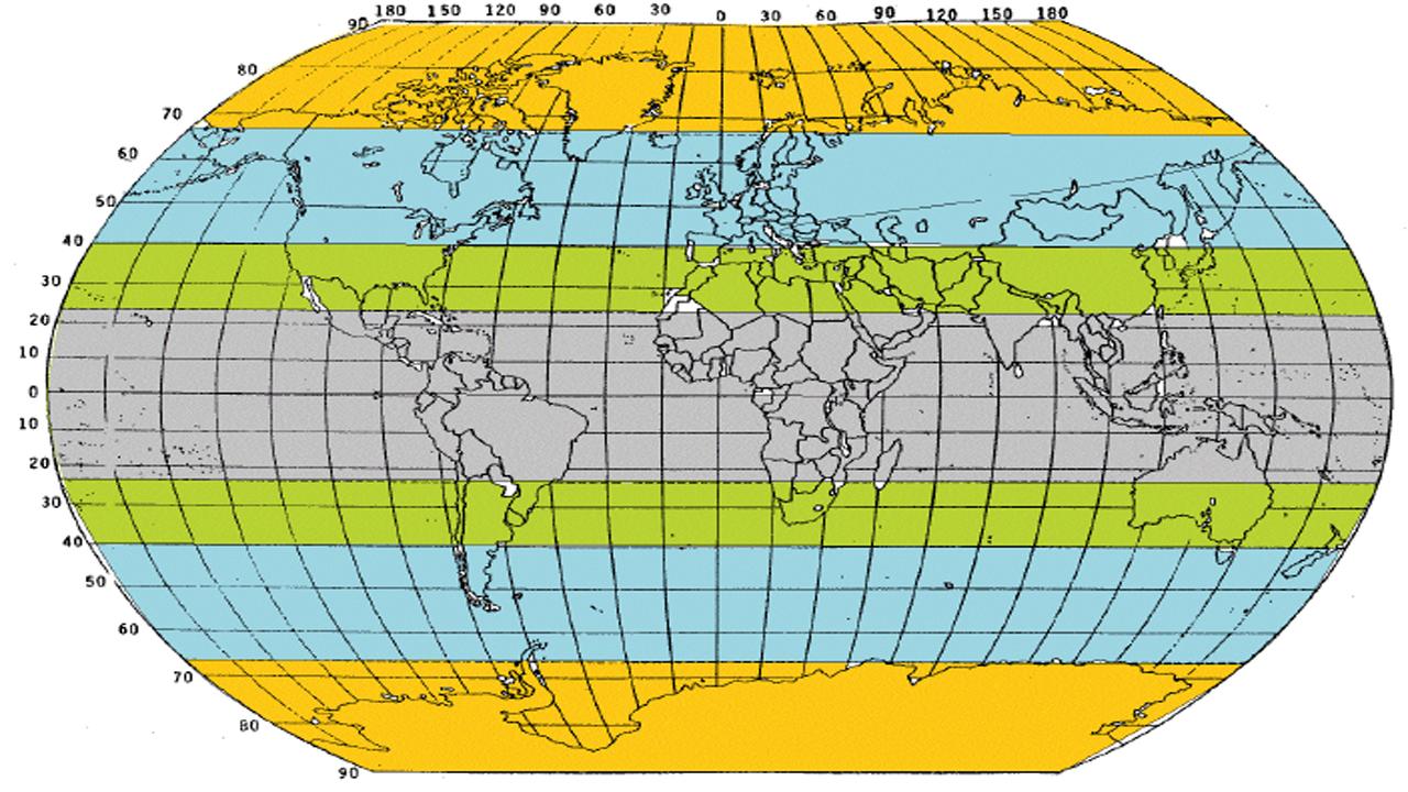 Peta Persebaran Iklim