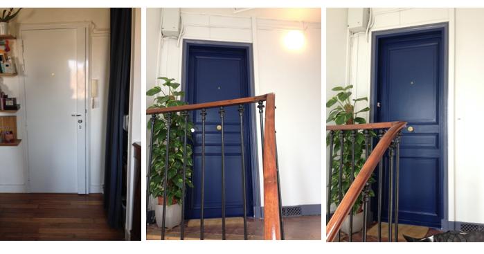 Changement de porte d 39 entr e la clamartoise - Probleme de serrure de porte d entree ...