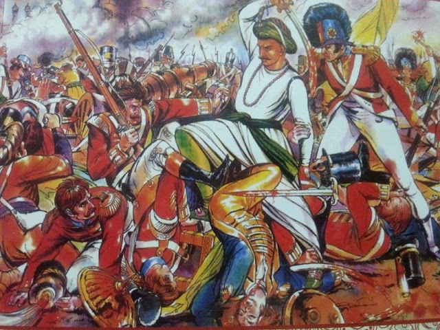 tipu-sultan-fourth-anglo-mysore-war-painting-aftab-zafar