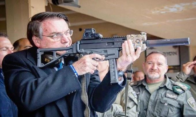 Fabricante de armas Taurus diz que já somavam 2 mil clientes na fila para adquirir fuzil. Governo recua.