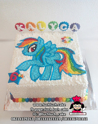 Kue Ulang Tahun Buttercream My Little Pony