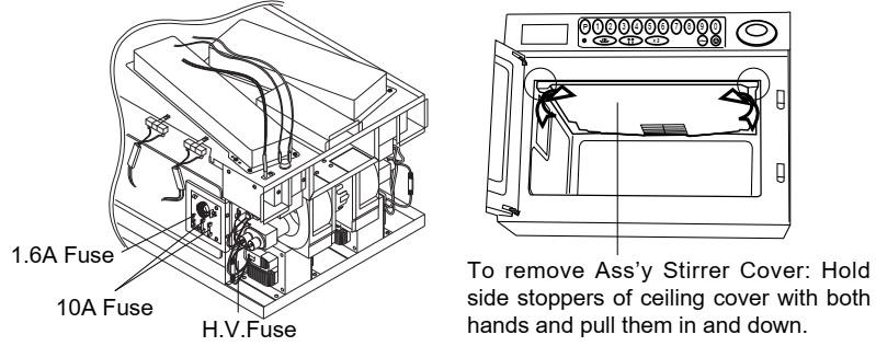 Electro Help Samsung Cm1829 Cm1819 Microwave Oven