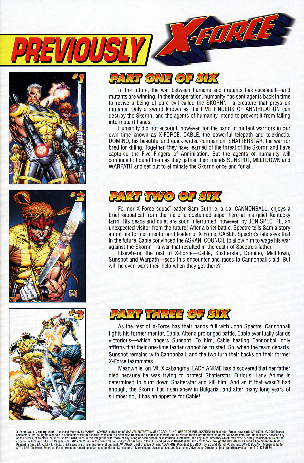 Read online X-Force (2004) comic -  Issue #4 - 3