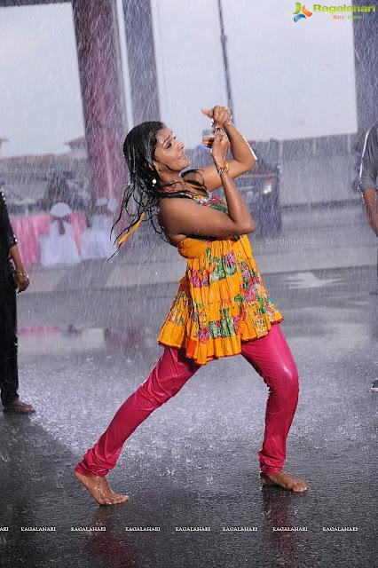 remya nambeesan hot and wet rain dance