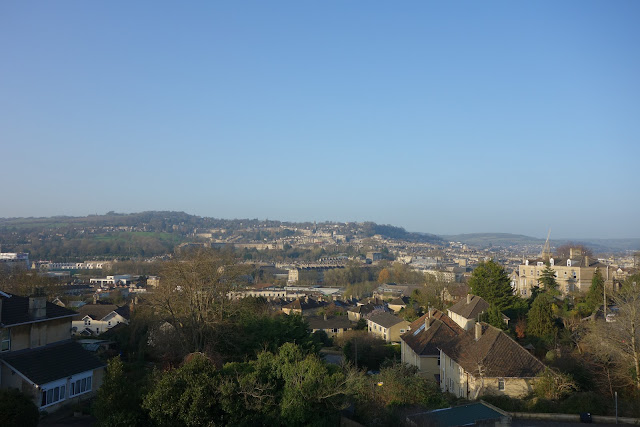 Landscape view of Bath