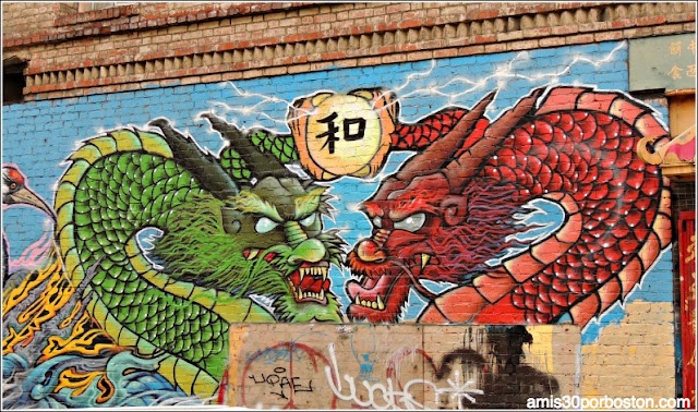 Grafitis Chinatown: El Barrio Chino de San Francisco