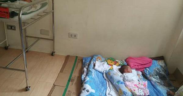 A netizen complains hospital how they treat newborn babies