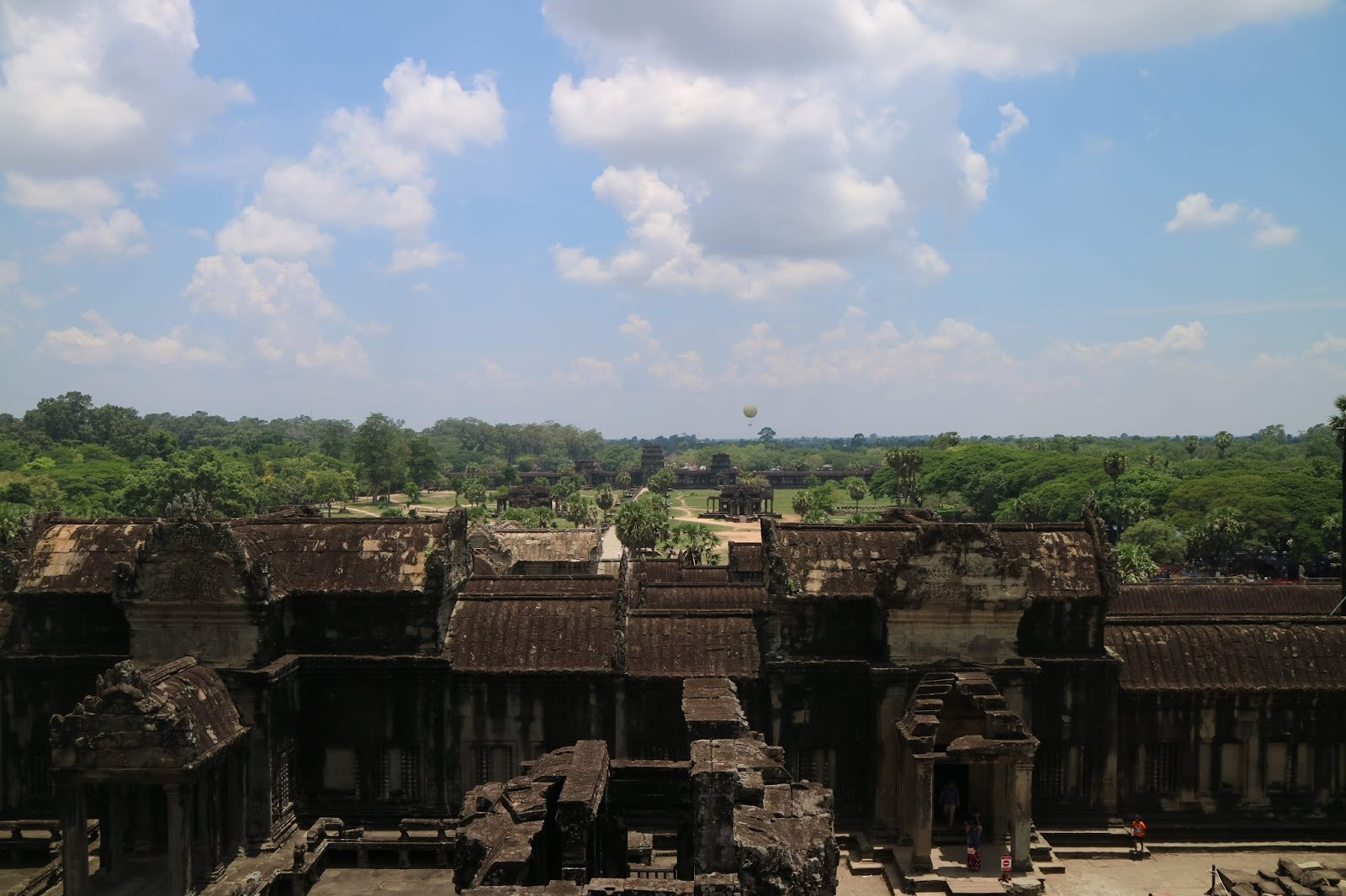 The view from Angkor Wat
