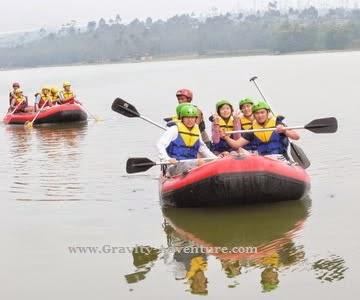 Rafting di Situ Cileunca