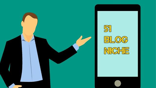51 Blog Niche