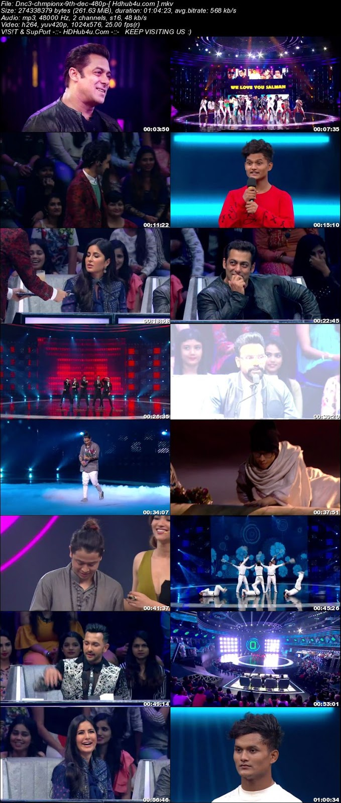Dance Champions 9th December 2017 480p HDTV 250MB Download