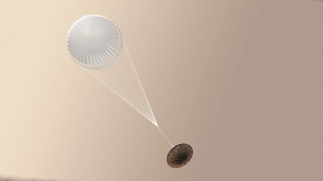 Приземлення на Марс. Модуль Schiaparelli