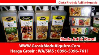 TELP. 0896 5396 7611, Madu Al Qubro Etalase Muslim, Grosir madu Al Qubro Etalase Muslim