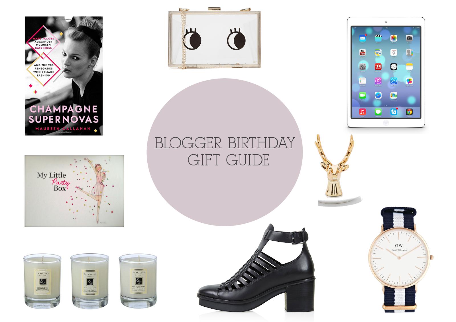 Blogger Birthday Gift Ideas