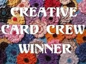Creative Card Crew winner
