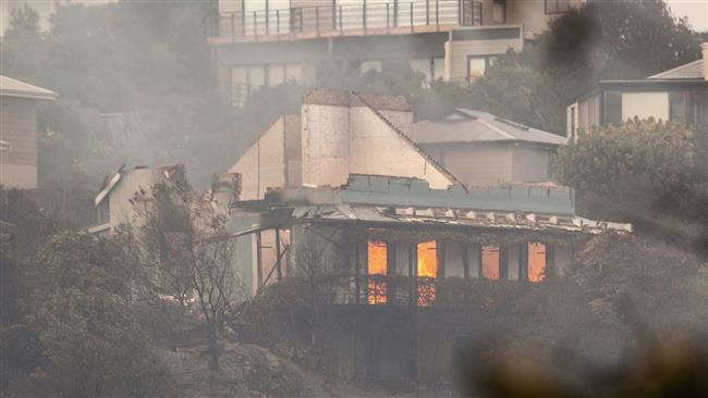 Four killed, 10,000 evacuated as fire rages on in South Africa